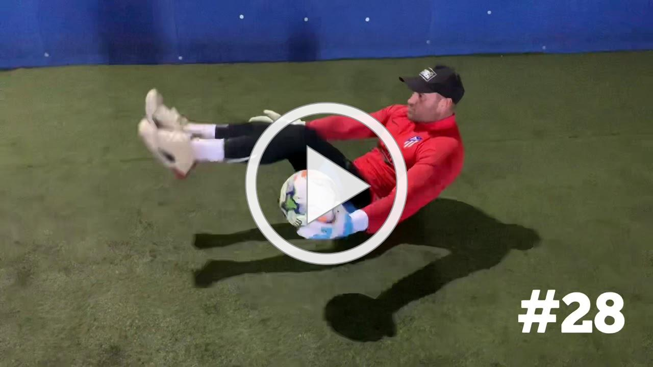 100 + Goalkeeping solo drills and home workouts ..Part 1