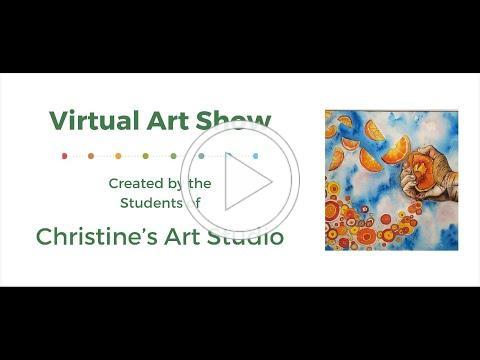 11th Annual Art Show: Christine's Art Studio