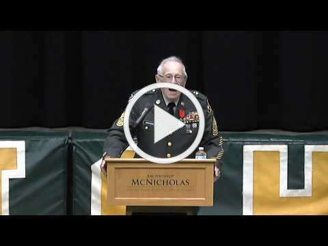 McNicholas High School's 2019 Veterans Day Assembly
