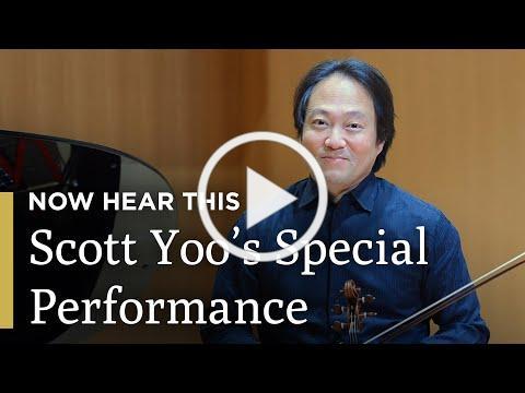 Scott Yoo Performs Beethoven's Kreutzer Sonata | Now Hear This | Great Performances on PBS