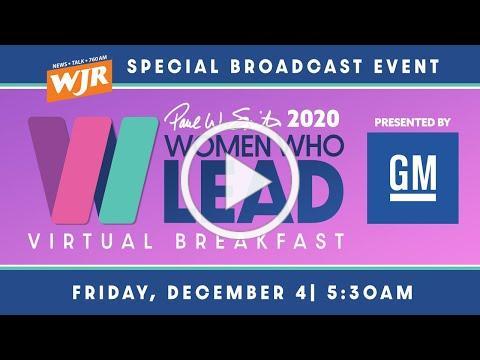 Paul W. Smith 2020 Women Who Lead Virtual Breakfast