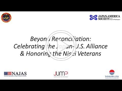 Beyond Reconciliation: Celebrate Japan-US Alliance and Honor Nisei Veterans