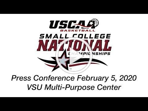 USCAA Basketball Small College National Championships Press Conference