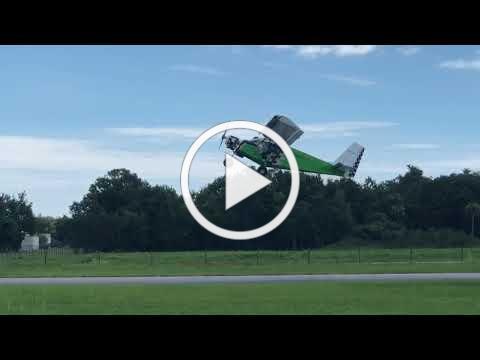 Viking 90 flying in CH-701 like