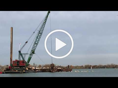 Peche Island Project Construction - November 5, 2020