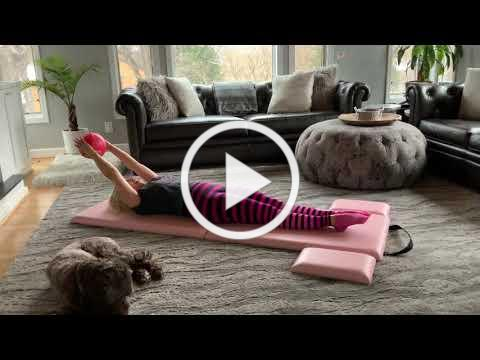 Alotapilates Basic 5 exercises with the Inflatable Ball from the Alota Kit