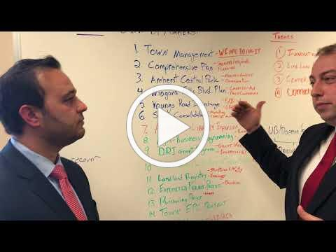 First Monday Minute: Chamber President/CEO A.J Baynes and Amherst Supervisor Brian Kulpa