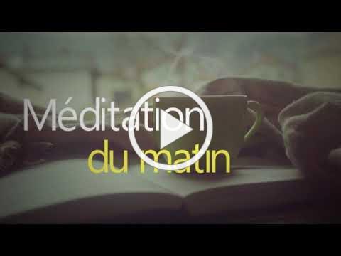 Méditation du matin, pour confiance en soi et énergie positive