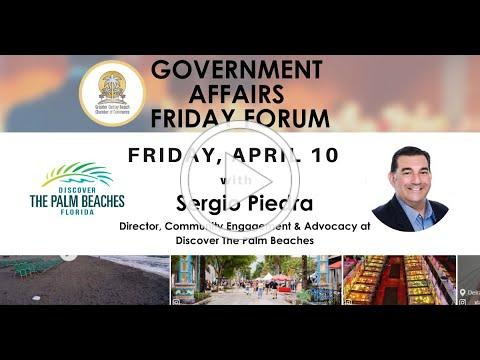 Delray Chamber - Government Affairs April 10, 2020