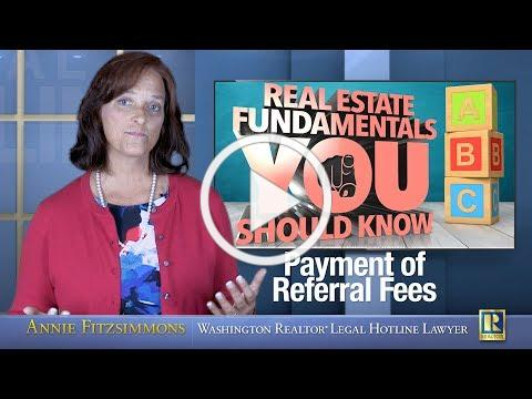 Payment of Referral Fees