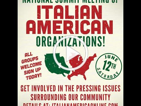 The 2nd National Italian American Summit Meeting (NIAS Two)
