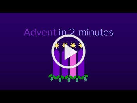Advent in 2 Minutes (NEW!)
