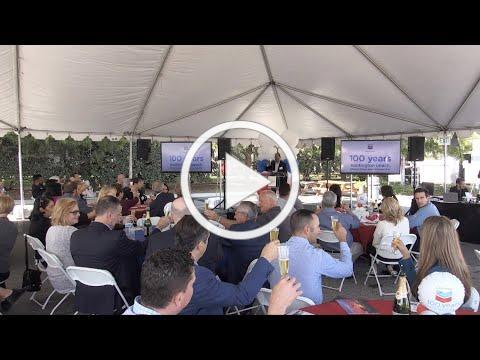 Iconic Chevron Turns 100 in Huntington Beach!