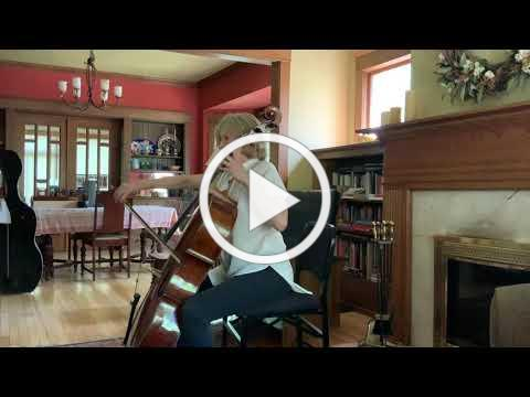 Bach Courante from Suite #1