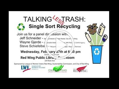 Talking Less Trash