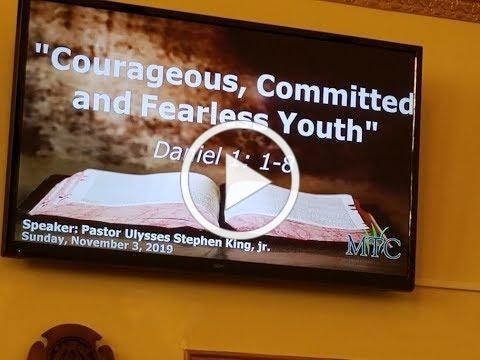 "Sermon: ""Courageous, Committed Youth"" (Daniel 1:1-8)"