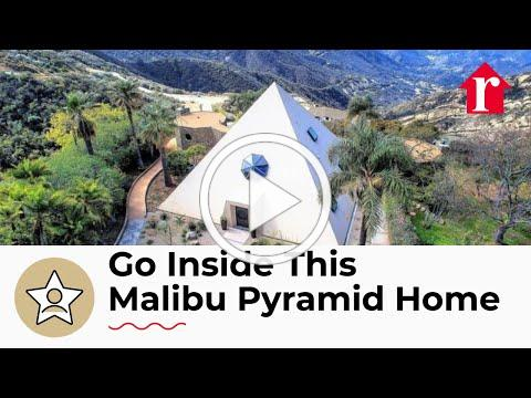 Unique Malibu Pyramid Home - luxury real estate