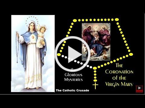The Glorious Mysteries - VIRTUAL ROSARY - (Sundays & Wednesdays)