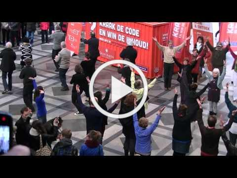 Taichi Flashmob Antwerpen 2013