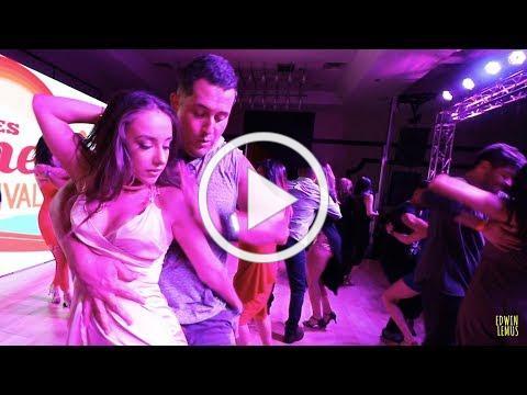 "Ed Huerta ""Bachadicto"" and Alexandra Sky LASBF 2017 Urban Bachata Room 2017"