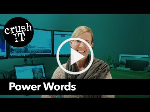 Crush-it: Power Words