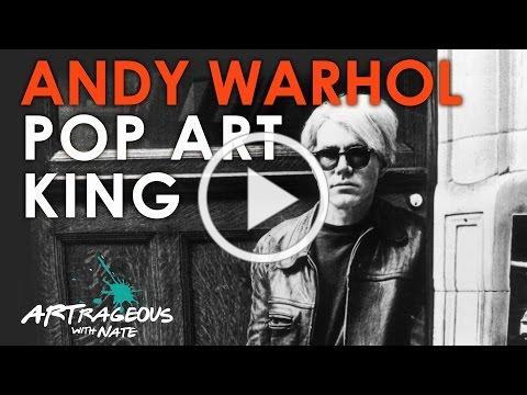 Brief History of Andy Warhol: Pop Art King
