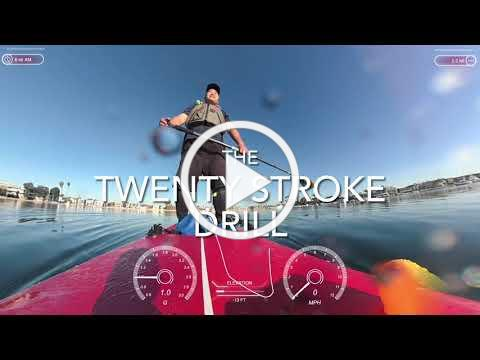Twenty Stroke Drill for Stand Up Paddle Board
