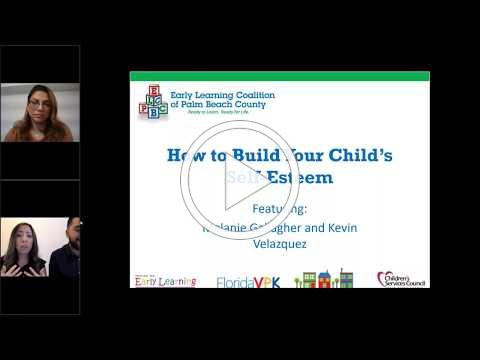 "ELCPBC Parent Cafe ""How To Build Your Child's Self-Esteem"" - 5/28/2020"