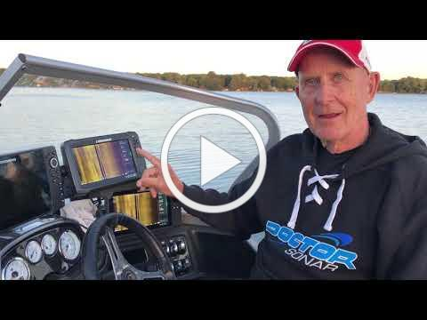 Lowrance HDS Pages Tip for rough water