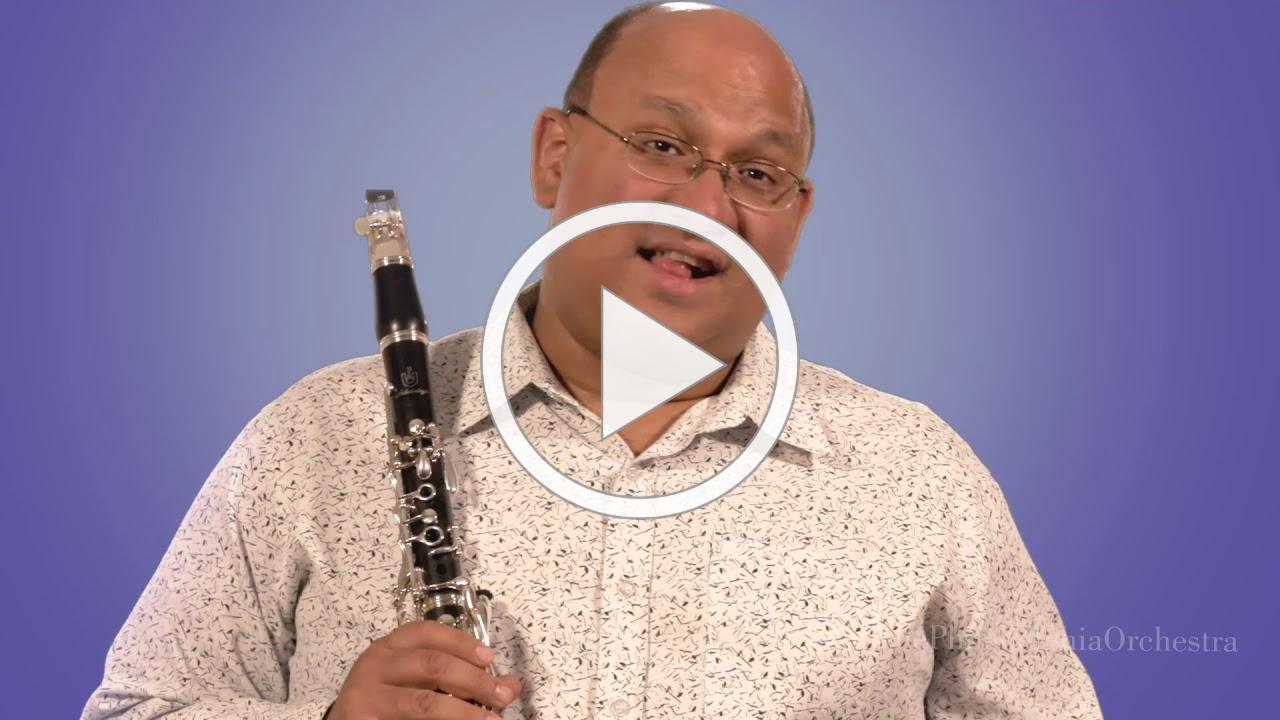 A Musician's Minute with: Principal Clarinet Ricardo Morales