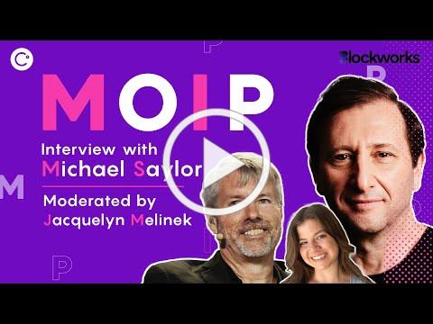 MOIP Interview with Michael Saylor, CEO of MicroStrategy