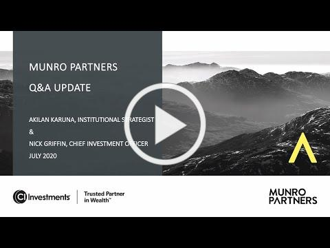 Q&A July 2020 Nick Griffin Akilan Karuna Munro Partners
