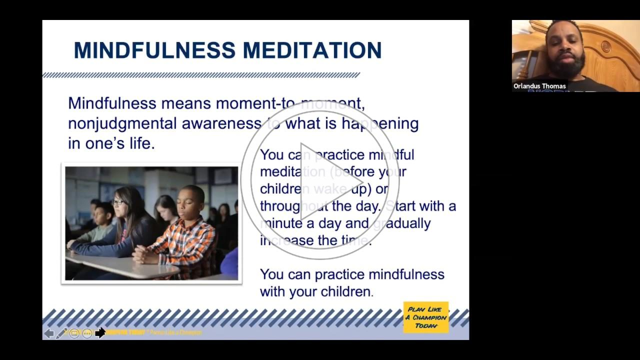 Mindfulness Meditation with Orlandus Thomas