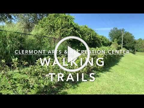 New Walking Trails at Clermont Arts and Recreation Center