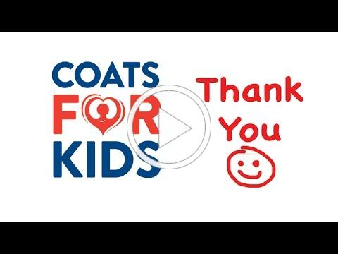 Coats For Kids Thank You!