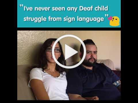Meet Norah and Her Family -- LEAD-K Campaign for Deaf Kids