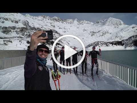 USA Nordic Combined Team Training in Galtür, Austria - Lumi Experiences Cross Country Ski Vacations