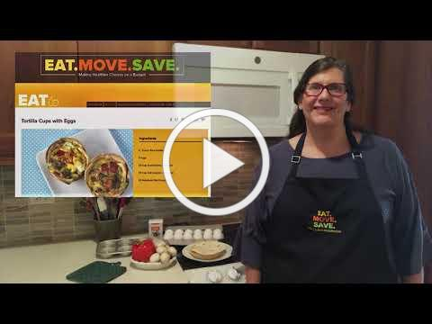 SNAP-Education Tortilla Cups with Eggs Recipe Intro (IL Extension DKK)