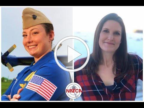 APA Member Jamie Sanders Talks Leadership With First Blue Angels Female Pilot Katie Cook