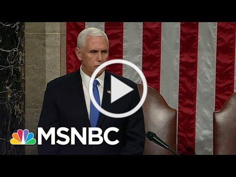Congress Affirms Biden As President After Completing Electoral Vote Count | MSNBC