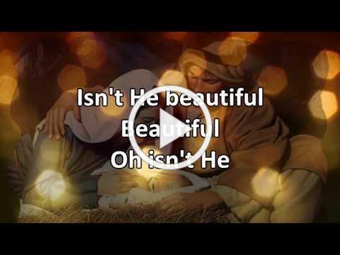 Isn't He (Christmas version) - Lyric Video HD