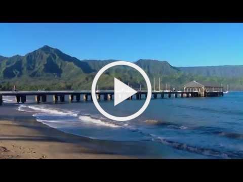 Hanalei Bay & Pier, Kauai, Hawaii