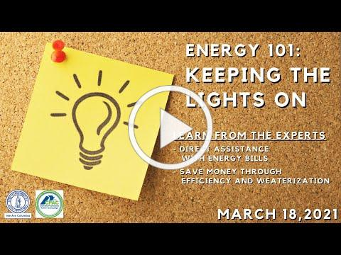 Energy 101: Keeping the Lights On