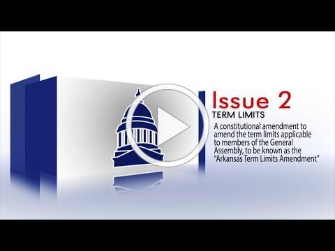 2020 Arkansas Ballot Issue 2 - Term Limits