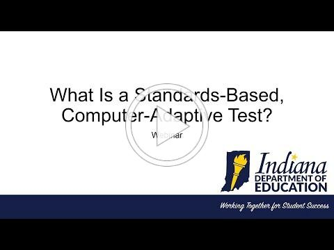 What Is a Standards-Based, Computer Adaptive Test?