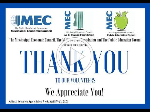 MEC Thanks Our Volunteers for All You Do