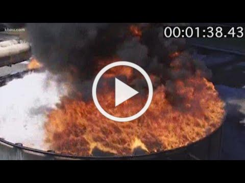 Fire Protection System Could Have Put Out Petrochemical Storage Tank Fire in Seconds