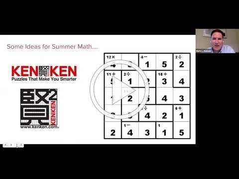 Lower School Summer Math and Reading Fun