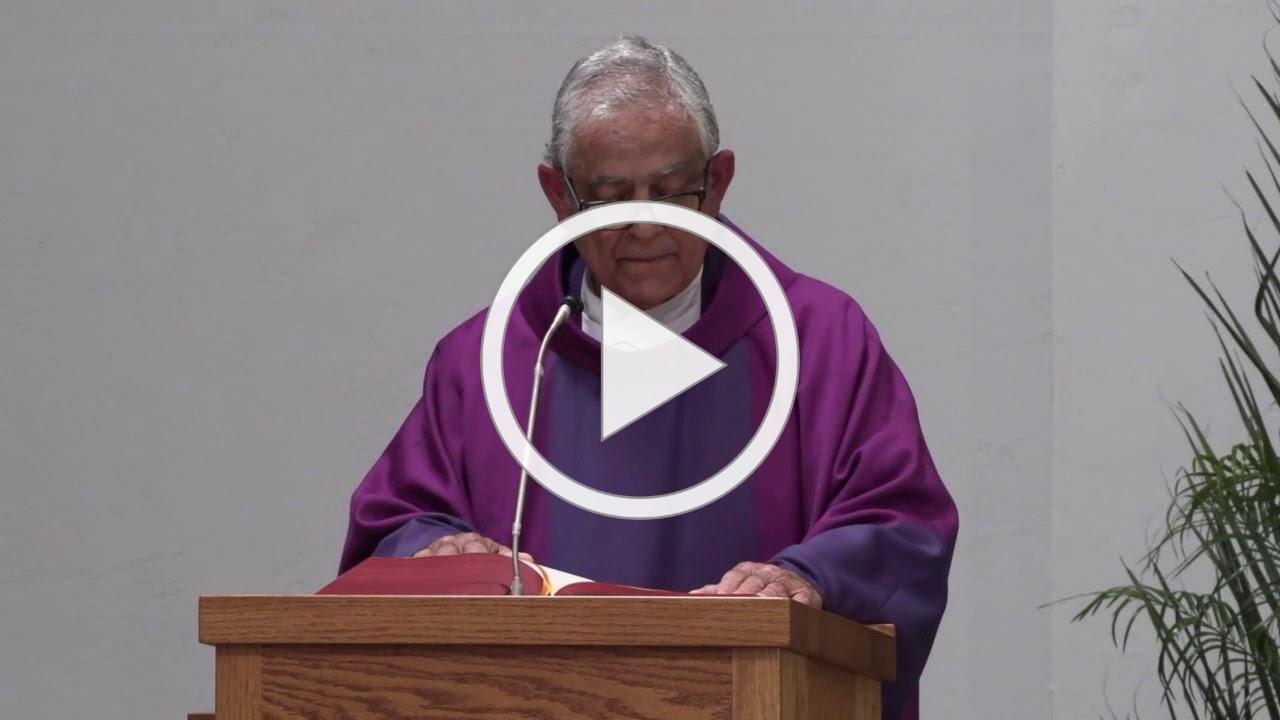 Mass Rev. Eduardo Samamiego, SJ-April 7, 2020