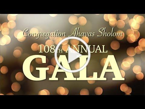 Congregation Ahavas Sholom 2021 Gala